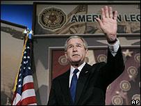 George W. Bush, presidente de EE.UU.