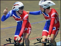 Ed Clancy and Bradley Wiggins