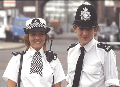 June Ackland and Jim Carver pictured in 1983