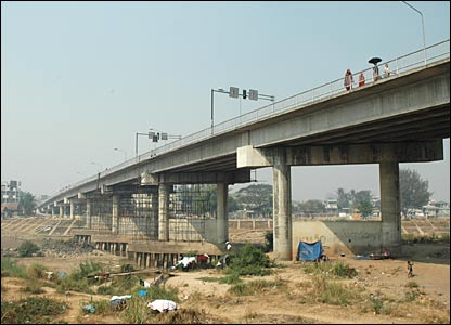 Friendship Bridge between Thailand and Burma