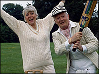 Wendy Richard and John Inman