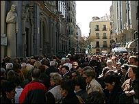 Procesión en Madrid
