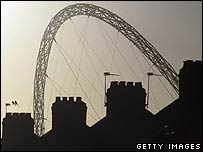 Wembley Stadium arch