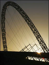 Wembley's arch