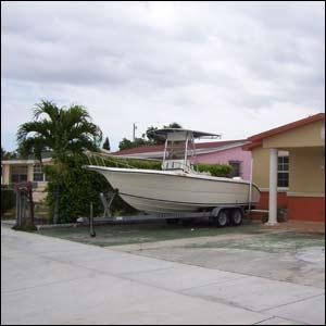 Barrio de Hiahleah en Miami. (Foto: J.Aparisi)