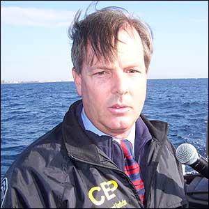 Zachary Mann, portavoz del Servicio de Aduanas y Protección Fronteriza de EE.UU. (Foto: J. Aparisi=