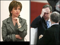 Diane Dodds and Nigel Dodds