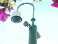 Offenders will hear a message through a loudspeaker