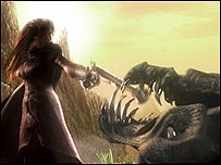 Screen shot from Fable