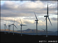 Braes of Doune wind farm in Scotland