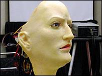 David Hanson's K bot, AAAS 2003