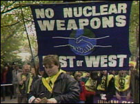 Anti-nuclear demonstration