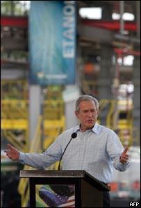 George Bush en Brasil