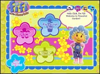 Fifi and the Flower Tots website