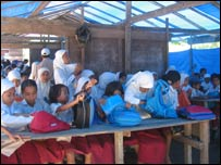Schoolchildren in Indonesia