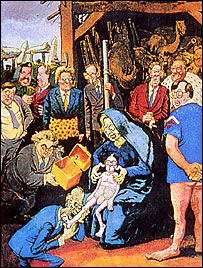 Adoration of the Majori © Steve Bell
