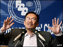 Anwar Ibrahim (file image from February 2007)
