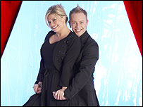 Emily Symons and Daniel Whiston on Dancing on Ice