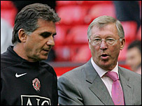 Carlos Queiroz and Sir Alex Ferguson