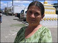 Juana Montufas    Foto: Mariusa Reyes, BBC Mundo