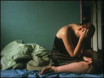 Depressed woman, generic