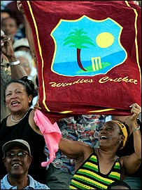 The West Indian love of cricket has been made plain