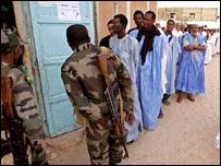 صفوف للناخبين الموريتانيين