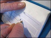 A cheque
