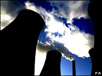 Cooling towers and chimney