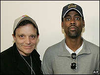 Richard Jeni and Chris Rock