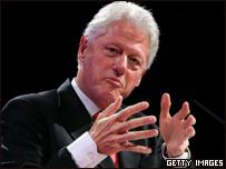 El ex presidente de EE.UU., Bill Clinton