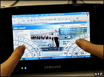 Samsung UMPC, AFP/Getty