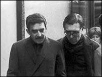 """Gabriel Garc�a M�rquez y Francisco """"Paco"""" Porr�a"""