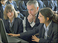 Huw Edwards at Paddington Academy