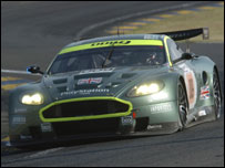 The DBR9 at Le Mans in 2006. Photo: Prodrive