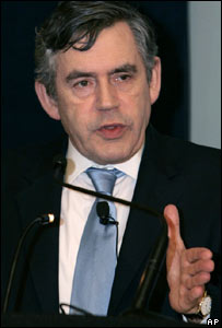 Gordon Brown. Image: AP