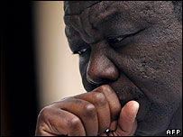 Zimbabwe opposition leader Morgan Tsvangirai (file photo)