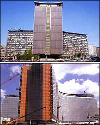The Berlaymont building
