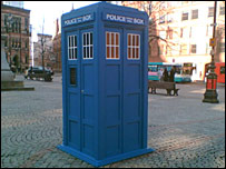 The Tardis in Manchester