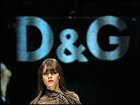 Desfile de modas de Dolce Gabbana.