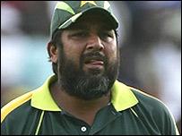 Pakistan skipper Inzamam-ul-Haq