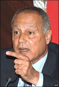 وزير الخارجية المصري أحمد أبو الغيط