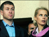 Roman and Irina Abramovich