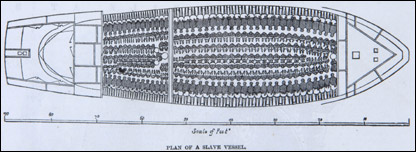 Plan of a Slave Ship [Crown Copyright/MOD 2007]