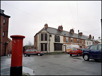 Gadsby Street, Nuneaton. Pic by David Rose / Panos Pictures