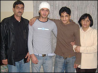 Adil and his family