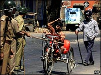 Policemen in Gujarat