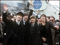 The Beatles in New York in 1964