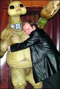 Dale Who with a slitheen
