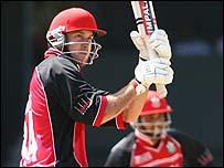 Canada batsman Geoff Barnett